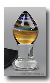 Glas Butt Plug Brosilikat