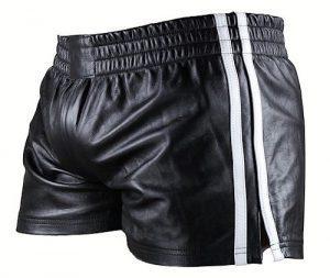 Herren-Shorts aus Leder