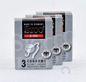 Sico X-TRA Kondome 0.1 mm